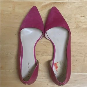 Cole Haan Flat Pink D'orsay Shoe